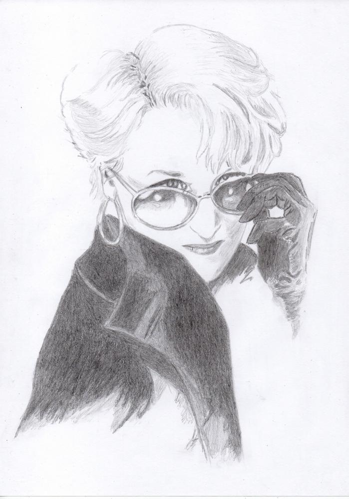 Meryl Streep by manonw08